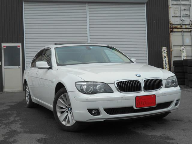 BMW 740iコンフォートPKG 革シート サンルーフ HDDナビ