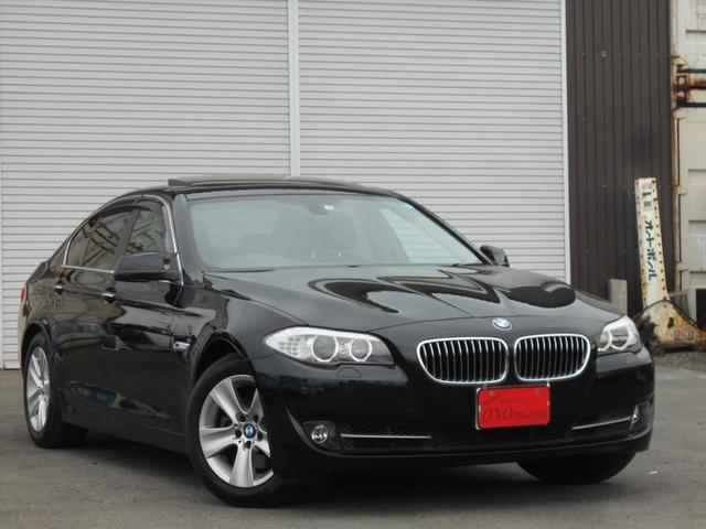 BMW 528IハイラインPKG 黒革 サンルーフ HDDナビ地デジ
