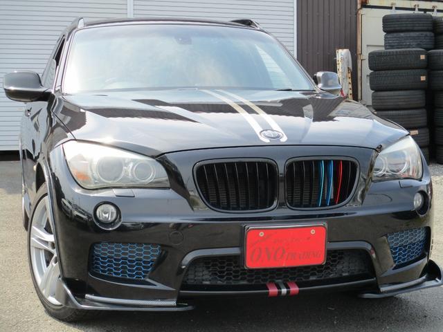 BMW X1 sDrive 18i Mスポーツパッケージ 社外スポイラー カロッツェリアナビ地デジTV ETC ドライブレコーダー