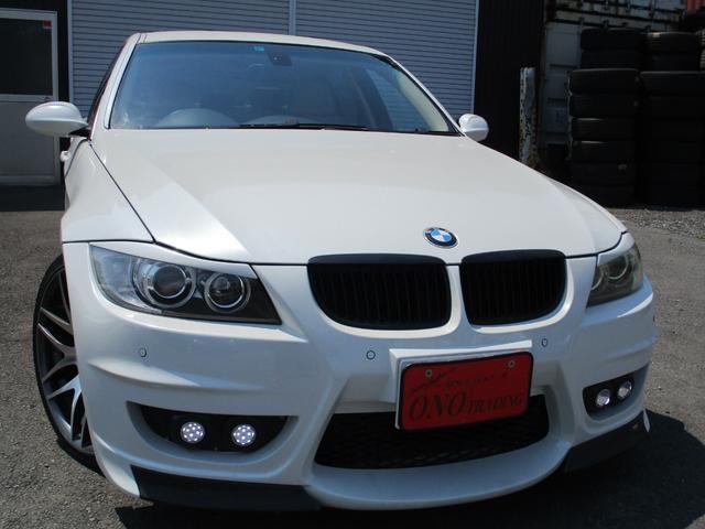 BMW 3シリーズ 335i エナジーコンプリート 可変マフラー 19AW ローダウン オートライト コーナーセンサー 革シート 前パワーシート シートヒーター