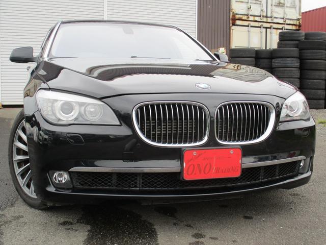 BMW 7シリーズ 750Li 黒革 サンルーフ ETC 地デジ 19AW