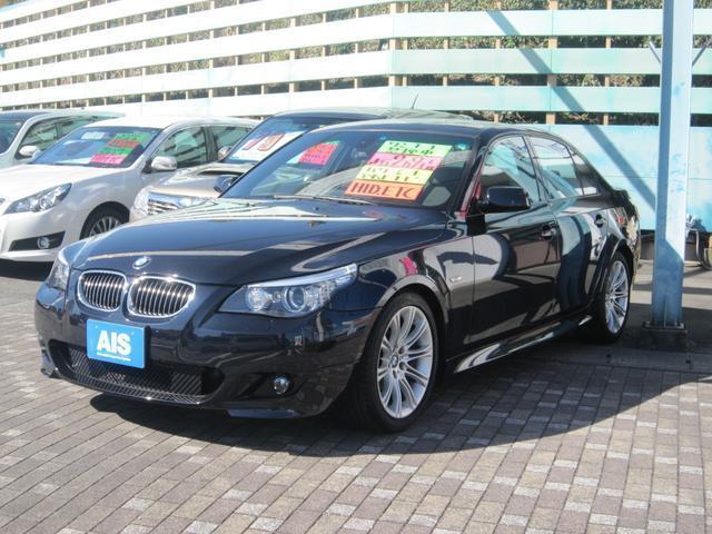 BMW 525i Mスポーツパッケージ ワンオーナー 禁煙車 ナビ