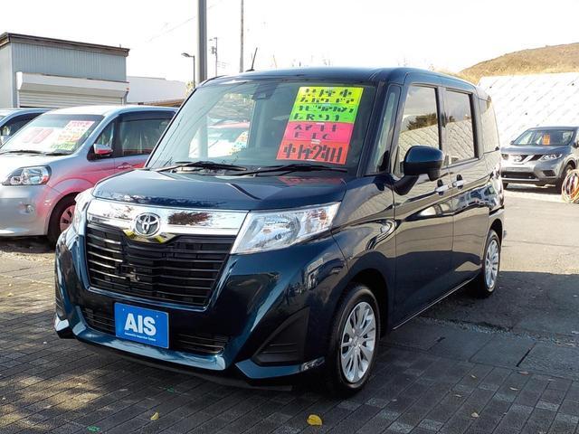 トヨタ ルーミー X S 禁煙車 スマートアシスト2