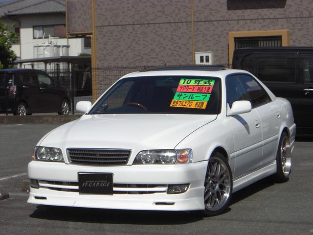 トヨタ ツアラーV 純正5速 サンルーフ 車高調 前置きIC