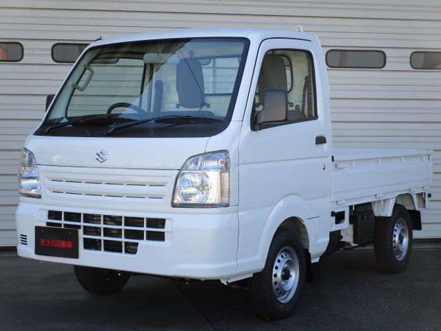 スズキ KCエアコン・パワステ ・4WD フロア5MT