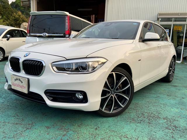 BMW 118i スポーツ 純正ナビ・ETC・Bカメラ・OZ18AW