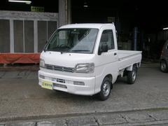ハイゼットトラックEXT 4WD ハイ・ロー切替 F5速 エアコン パワステ