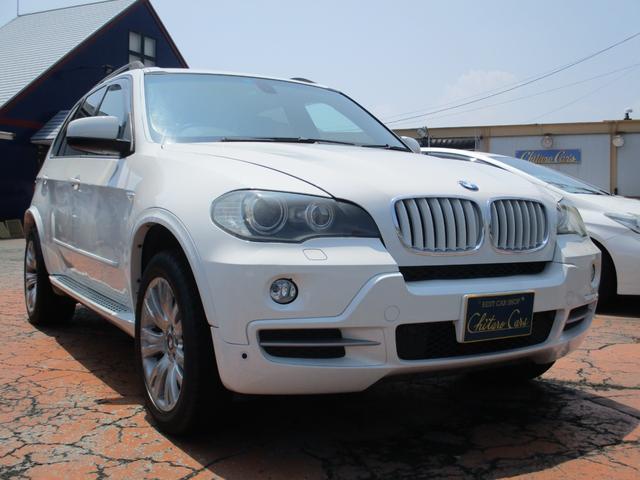 BMW X5 3.0si 黒レザーシート