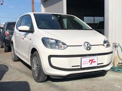VW アップ!AT オーディオ付 コンパクトカー ホワイト