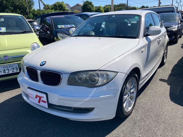 BMW 1シリーズ 116i ETC バックカメラ ナビ アルミホイール AT CD キーレスエントリー 盗難防止システム ABS エアコン パワーステアリング