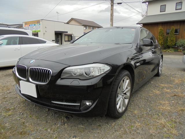 BMW 535i ブラックレザー 純正ナビ バックカメラ