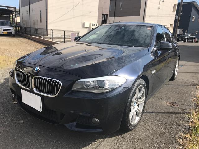 BMW 528i Mスポーツパッケージ ブラックレザー サンルーフ