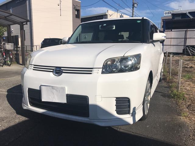 トヨタ 1.5G エアロツアラー 社外18AW 社外ナビ 純正エアロ