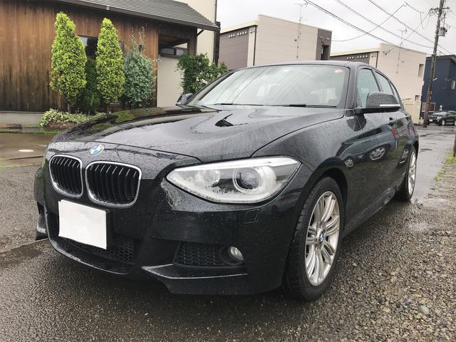 BMW 116i Mスポーツ 純正HDDナビ プッシュスタート