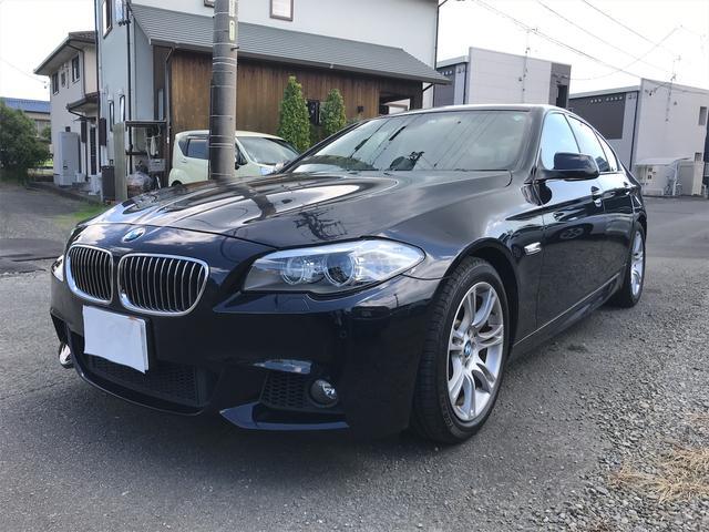 BMW 535i Mスポーツパッケージ ブラックレザー HDDナビ バックカメラ
