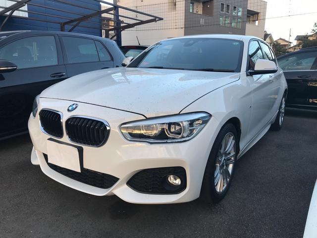 BMW 1シリーズ 118i Mスポーツ 純正HDDナビ ETC キセノン