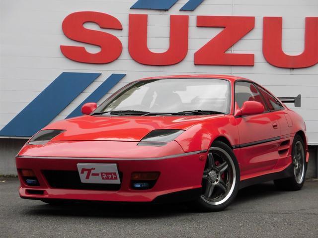 トヨタ GT 5速ターボ レカロシート 社外バンパー リヤウイング