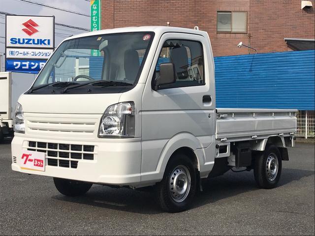 スズキ KCエアコン・パワステ 4WD パワステ エアコン メーカー保証