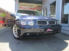 BMW745i 左ハンドル ディーラー車