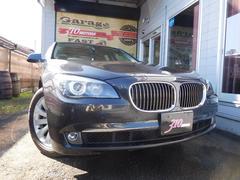 BMW740i ブラウンレザーサンルーフ ETC バックカメラ