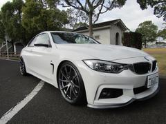 BMW435iクーペ Mスポーツ純正HDD地デジ黒革サンルーフ