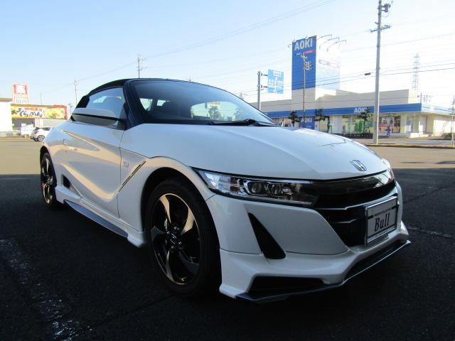 「ホンダ」「S660」「オープンカー」「静岡県」の中古車