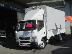 キャンター幌電動ウイング ロング 4WD キーレス 1650kg積み