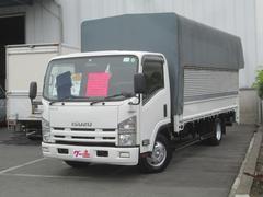 エルフトラック超ロングワイド・幌パワーゲート600kg・2t・ワンオーナー