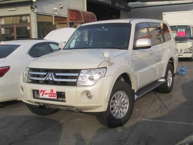 三菱 ロング GR ナビ 4WD HID キーレス