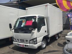 エルフトラックアルミバン 1450kg積 リアカーテン仕様 空車モード