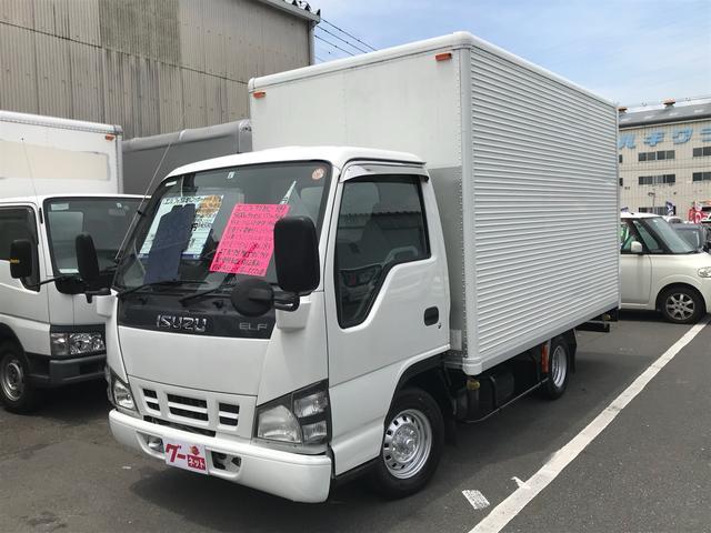 いすゞ アルミバン 1450kg 1ナンバー 空車モード