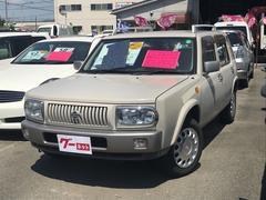 ラシーンタイプII 4WD  5人乗り SUV 背面タイヤ