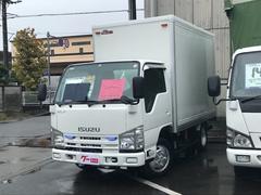 エルフトラックパネルバン 低床 4WD はね上げゲート バックカメラ