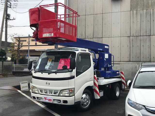 日野 高所作業車12m アイチSS12A 200kg 5速MT