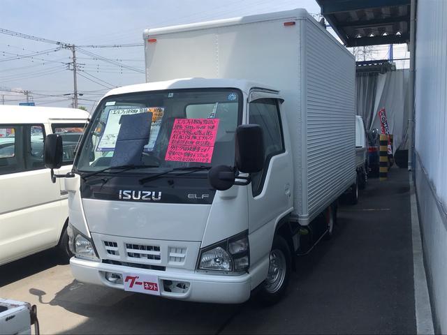 いすゞ アルミバントラック 1450kg ディーゼル 空車モード