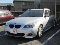 BMW525iツーリング Mスポーツパッケージ ナビ CD MD