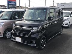 N BOXカスタムG・Lホンダセンシング 軽自動車 ETC ブラック 整備付