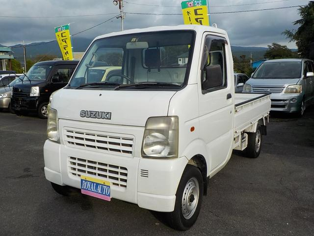 スズキ  4WD 5速マニュアル エアコン パワステ