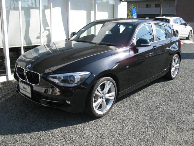 BMW 116iスポーツ プラスパッケージ パーキングP新車保証残有