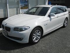 BMW523dツーリングハイラインP 純OP電動黒レザーS 禁煙車