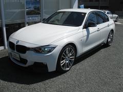 BMW320iMスポ 希少6速M/T Mパフォーマンスエアロ禁煙車