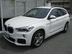 BMW X1sDrive18iMスポ純OP黒スポーツレザーシート外地デジ