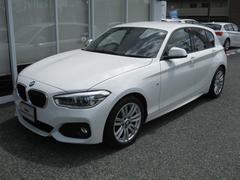 BMW118iMスポ最長4年保証OP赤スポーツレザーSパーキングP