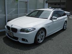 BMW523iツーリングMスポ最長4年保証オイスターダコタレザーS