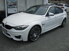 BMWM3セダンコンペティション最長4年保証MDCTドライブ禁煙車
