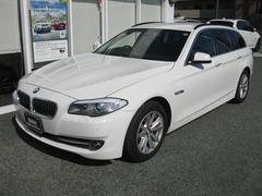 BMW523iツーリングハイラインPレーンチェンジ警告灯黒レザーS