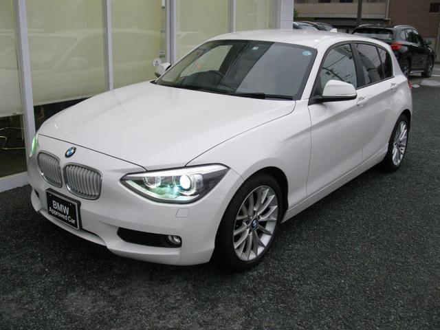 BMW 116iファッショニスタ純OPオイスターレザーS純HDDナビ
