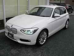 BMW116iファッショニスタ純OPオイスターレザーS純HDDナビ