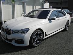 BMW740iMスポ最長4年保証レーザーヘッドライト純OP20AW