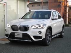 BMW X1xDrive18dxライン ACC HUD レザー 2年保証